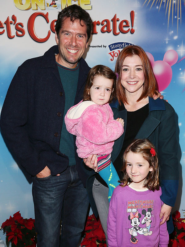 Alyson Hannigan Disney on Ice Let's Celebrate