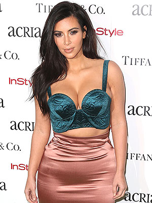 Kim Kardashian ACRIA Holiday dinner