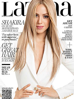Shakira April Latina Magazine