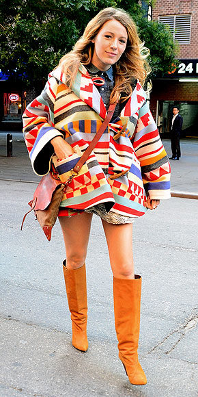 MORE FOUR-FIGURE OUTERWEAR photo | Blake Lively