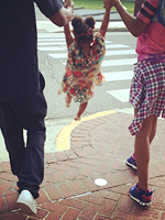 Beyonce, Blue Ivy Photos