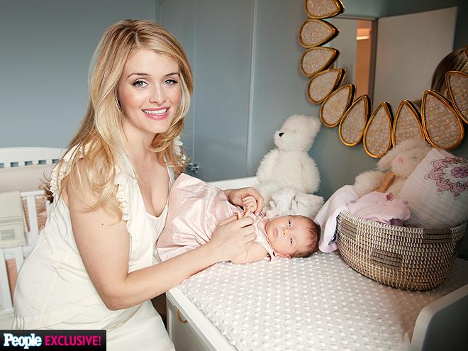 Daphne Oz Baby Nursery Photos Daughter Philomena People Com