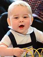 Prince George's Cute & Fun Royal Tour Gifts