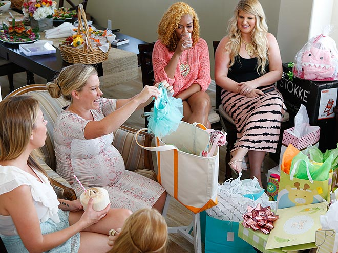 kendra wilkinson baby girl baby shower party