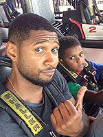 Usher, Jessica Alba, Gwyneth Paltrow: Celeb Family Selfies