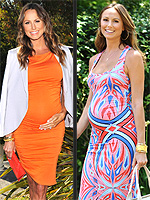 Stacy Keibler Pregnancy Style Photos