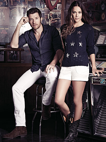 Brett Eldredge, Jana Kramer new ad campaign for Macy's