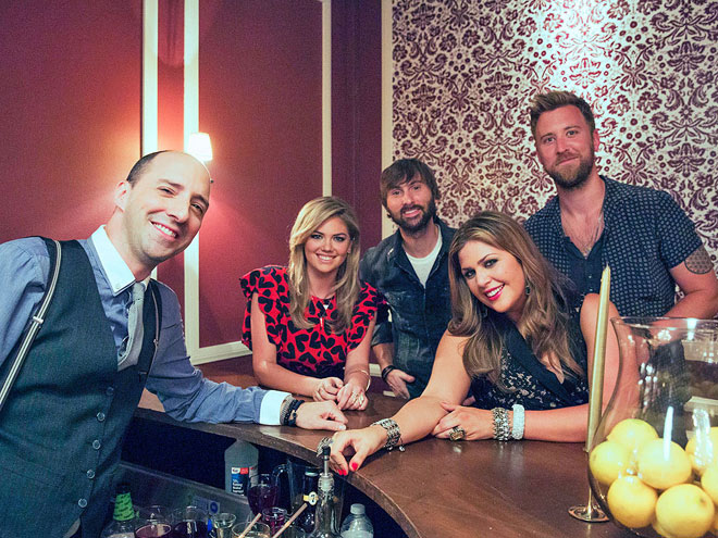 THE IN CROWD photo | Kate Upton, Lady Antebellum, Tony Hale