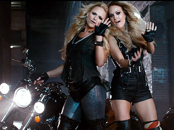Carrie & Miranda's 'Somethin' Bad' Video Is Here: We Break Down Its Major Fashion Moments| Country, Carrie Underwood, Miranda Lambert