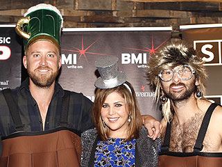 See Why Lady A Had a Barrel of Laughs (Literally!) at Their 'Bartender' Bash