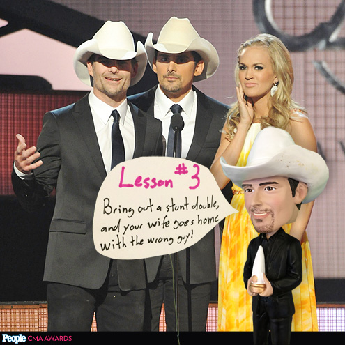 NOT SO FAST! photo   Brad Paisley, Carrie Underwood
