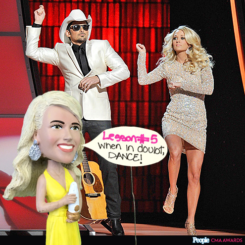 JUST DANCE photo | Brad Paisley, Carrie Underwood