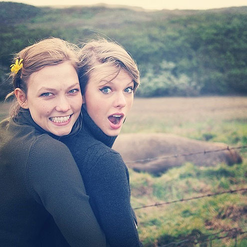 BIG SUR photo | Karlie Kloss, Taylor Swift