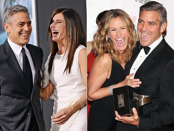 photo | George Clooney, Julia Roberts, Sandra Bullock