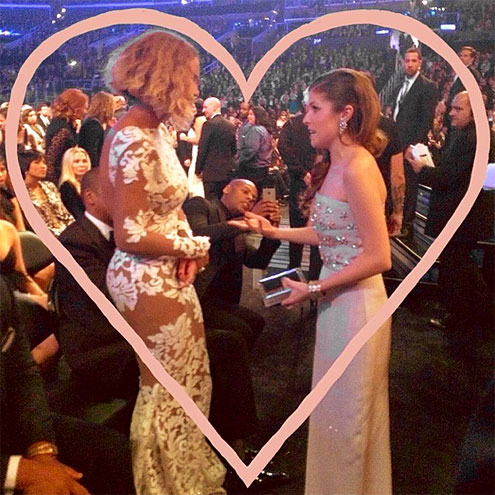 photo | Anna Kendrick, Beyonce Knowles
