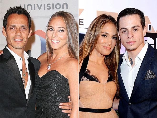 photo | Casper Smart, Jennifer Lopez, Marc Anthony