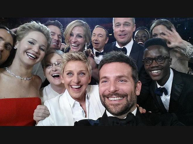 photo | Angelina Jolie, Brad Pitt, Bradley Cooper, Ellen DeGeneres, Jared Leto, Jennifer Lawrence, Kevin Spacey, Lupita Nyong'o, Meryl Streep