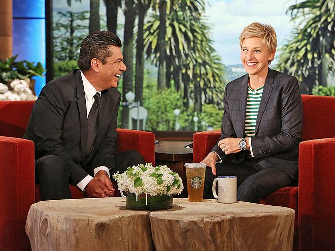 photo | Ellen DeGeneres, George Lopez