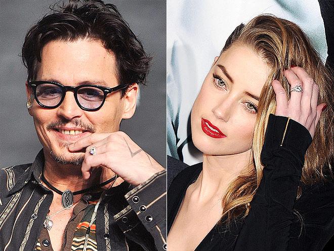 photo | Amber Heard, Johnny Depp