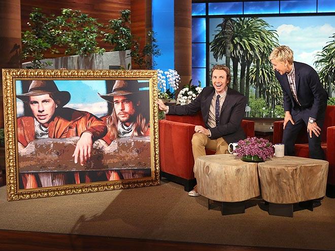 photo | Brad Pitt, Dax Shepard, Ellen DeGeneres