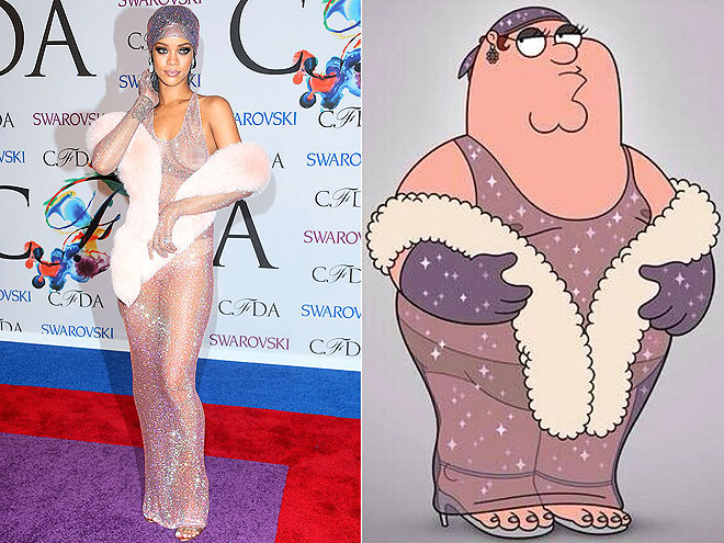 photo | Family Guy, Rihanna
