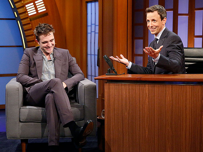 photo | Robert Pattinson, Seth Meyers