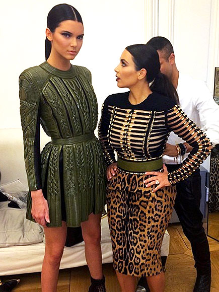 photo | Kendall Jenner, Kim Kardashian