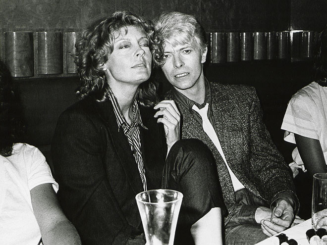 photo | David Bowie, Susan Sarandon
