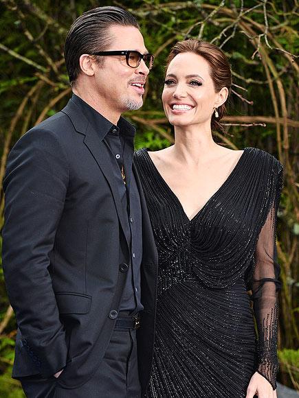 YUP, SHE GOT MARRIED ... photo | Angelina Jolie, Brad Pitt