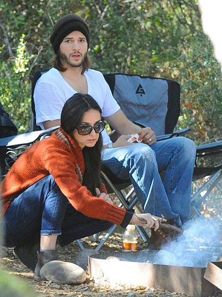 DEMI & ASHTON photo | Ashton Kutcher, Demi Moore