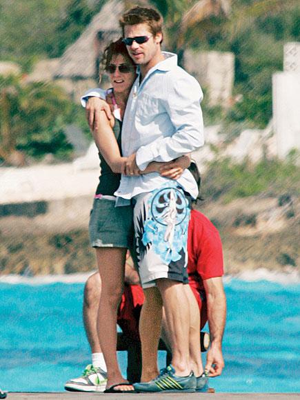 BRAD & JENNIFER photo | Brad Pitt, Jennifer Aniston