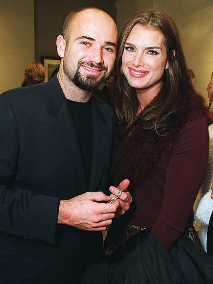 Brooke Shields Andre Agassi