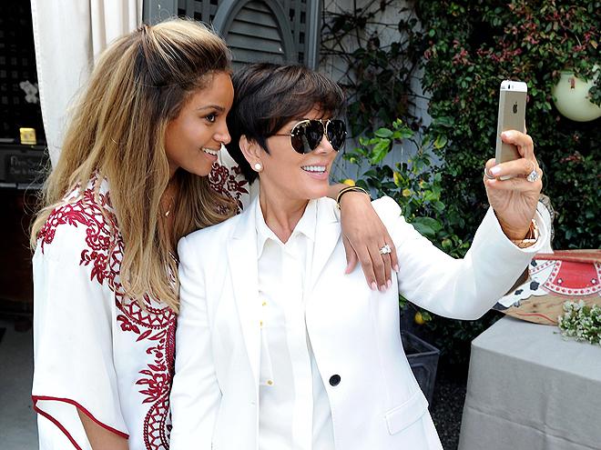 ciara baby shower photos kim kardashian la la anthony people