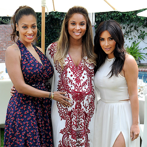 LADIES FIRST photo | Ciara, Kim Kardashian