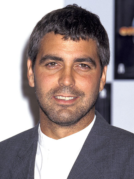 George Clooney Caesar Cut | newhairstylesformen2014.com