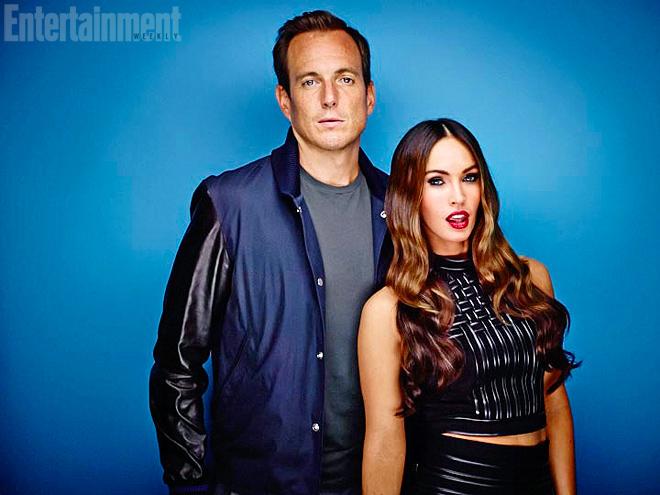 WILL ARNETT & MEGAN FOX photo   Megan Fox, Will Arnett