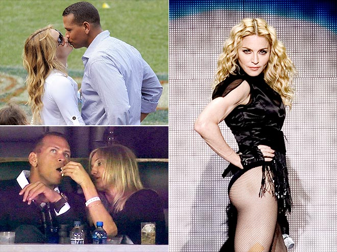 ALEX RODRIGUEZ: ATHLETIC BLONDES