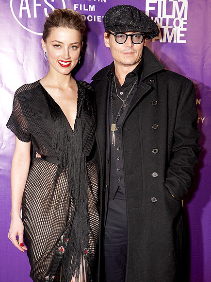 RING IT IN photo | Amber Heard, Johnny Depp