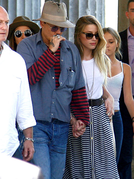 TOTALLY IN SYNC photo | Amber Heard, Johnny Depp
