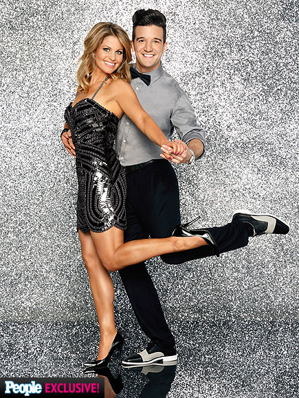 CANDACE CAMERON BURE & MARK BALLAS photo | Candace Cameron, Mark Ballas