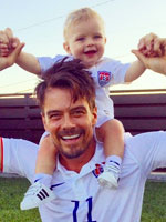Fergie and Josh Duhamel Family Photos