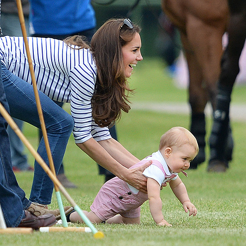 The Royals' First Father's Day with Prince George