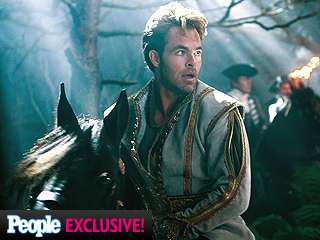 Watch Disney's Into the Woods Teaser Trailer | Chris Pine