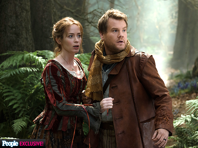 SINGING FOR THEIR SUPPER photo | Emily Blunt, James Corden