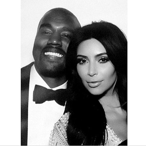 HAPPILY EVER AFTER photo | Kanye West, Kim Kardashian