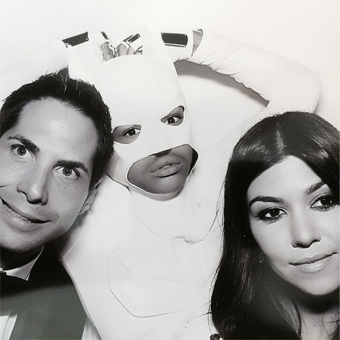 BATS ALL FOLKS photo | Joe Francis, Kourtney Kardashian