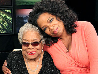Remembering Maya Angelou: See the Poet Laureate with Her Famous Friends | Maya Angelou, Oprah Winfrey