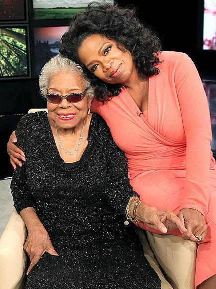 OPRAH photo | Maya Angelou, Oprah Winfrey