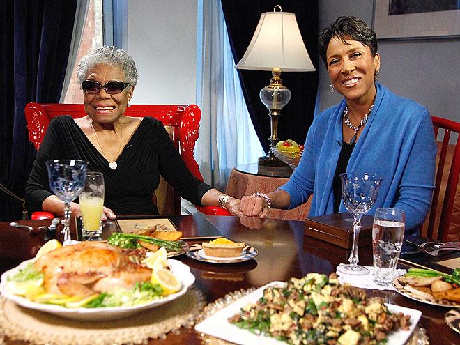 ROBIN ROBERTS photo | Maya Angelou, Robin Roberts