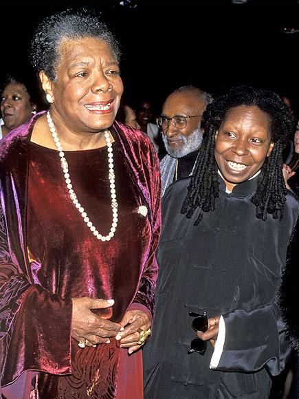 WHOOPI GOLDBERG photo | Maya Angelou, Whoopi Goldberg